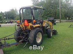 Cub Cadet Compact Tractor Model 7305 With Front Loader 4X4 POWER STEERING