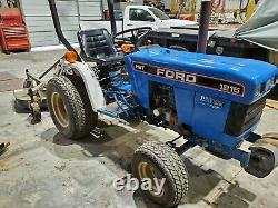 FORD 1215 Tractor with Woods RD 60 finishing mower Only 544 hrs