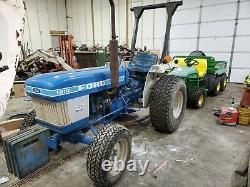 Ford 1510 4x4 tractor compact Diesel 3 point hitch 831 Low hrs 2 owner Clean