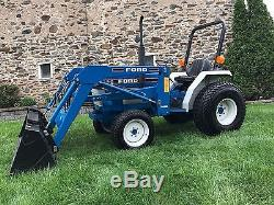 Ford 1520 Tractor Loader 4x4 HST 84 Original Hours