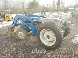 Ford 1600 Loader 4x4 tractor compact Diesel 3 point hitch Low hrs new tires