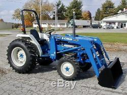 Ford 1920 Diesel 4x4 / Loader / Only 1698 Hours! Nationwide Shipping Available