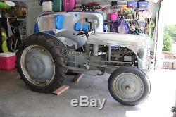 Ford 1939 9N Tractor # 364/700 Built, Ford & Ferguson, Aluminum Cast Hood