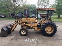 Ford 250c Tractor