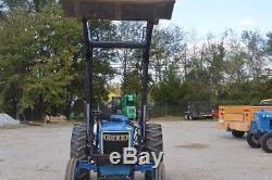 Ford 3000 diesel tractor factory power steering Westendorf loader