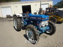 Ford 3910 III Utility Tractor MINT ORIGINAL CONDITION MFWD 4x4 Diesel 3PT PTO