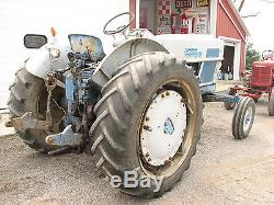 Ford 6000 wide front diesel tractor. 540/1000 pto. Select O Speed transmission