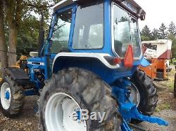 Ford 6610 tractor diesel 4x4 drive, cab, air, PTO, three point hitch