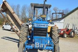 Ford 7700 diesel tractor Dual factory remote hydraulics 3293 hours on clock