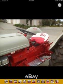 Ford 9N Tractor with 1954 Buick nail head V8 motor