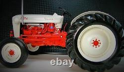 Ford Farm Tractor 1950s Vintage Machinery 1 12 Model Diecast J Rare