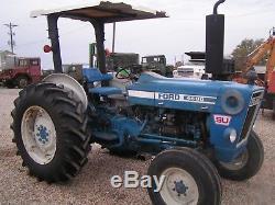 Ford Farm Tractor 4600 Su New Holland Diesel