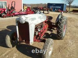 Ford Jubilee Tractor, Runs Good, But Kind of Ugly