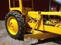 Huber M-500 Road Maintainer/ Grader Tractor with Continental Gas Engine Restored