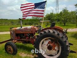 International 300 Tractor 1956 Classic American Iconic Gas model made for 1 year