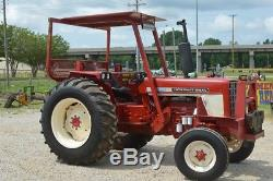 International diesel tractor power steering