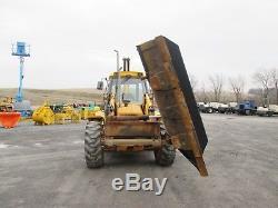 JCB 215S Farm Tractor Loader Backhoe