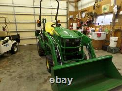 JOHN DEERE 1025R 4WD LDR BACKHOE 2018 With 26HRS! EXC. COND