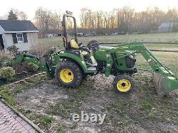 JOHN DEERE 2038r 4WD LDR BACKHOE 2016 With 830 Hrs EXC. COND