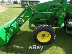 JOHN DEERE 4044R 2014 With37HRS 4WD HYDRO LDR WARR, REMAINING