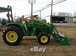 John Deere 4120 4 X 4 Loader Tractor