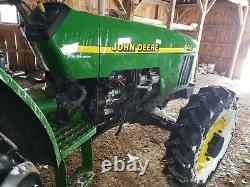 JOHN DEERE 5410 4x4 tractor POWER REVERSER NICE LIKE 5200 5210 5300 5310 5400