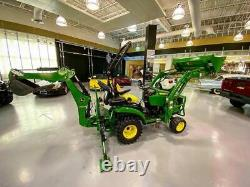 John Deere 1025R 2019 4WD Diesel 64hrs Loader Backhoe