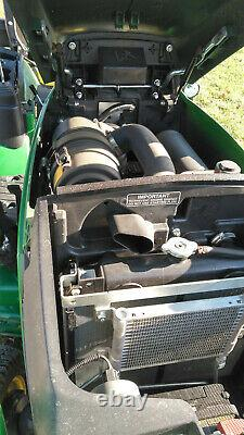 John Deere 1025R Compact Utility Tractor with H-120 Loader, Mower & Ballast Box