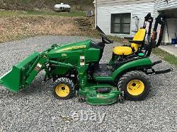 John Deere 1025r Tractor Only 104 Hours