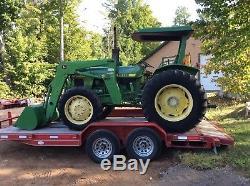 John Deere 1450 Diesel 4x4 Loader Tractor