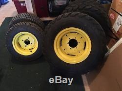 John Deere 2320 Utility Tractors, Diesel, 4WD, Front End Loader, Mid Mount Mower