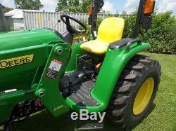 John Deere 3032e 4wd Tractor Loader 13.5 Hrs 2015 Mint