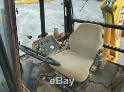 John Deere 310E Backhoe Cab 4x4 Diesel Used Heat