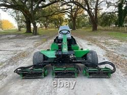 John Deere 3225b Gang Reel Mower 3 Cyl Diesel Engine Hydrostatic Low Hours