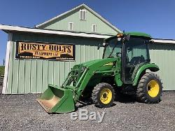 John Deere 3320 4x4 Compact Tractor / Loader Heat And Ac Cheap Shipping