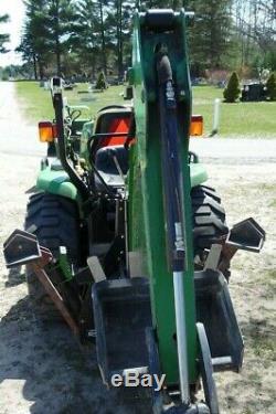 John Deere 3320 910267 E hydro Hydro-static MFWD Tractor Garfield Township Clare