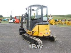 John Deere 35D Farm Mini Excavator Tractor Dozer