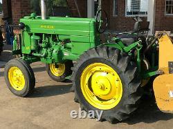 John Deere 40 Series Tractor, Original 6 Volt, Restored, Runs Great