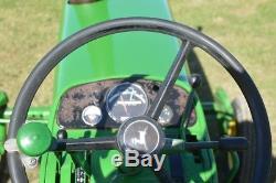 John Deere 4010 tractor nice original tractor dual remotes syncro
