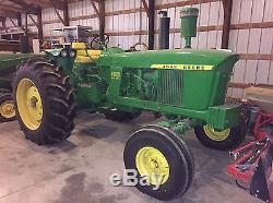 John Deere 4020 Diesel Row Crop Tractor Fully Restored LOW HOURS