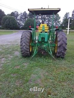 John Deere 4020 tractor console model