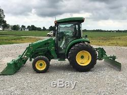 John Deere 4044R Utility Tractor compact loader cab tractor