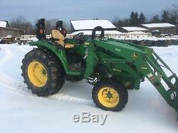 John Deere 4052R Compact Utility Tractor With H180 73 Loader 560hrs