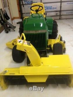 John Deere 420 Compact Tractor, 1989 John Deere Compact Tractor Snowblower, 60