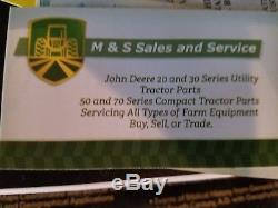 John Deere 4520 4WD with JD Loader