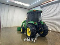 John Deere 4520hst Cab Utility Tractor With Ac/heat