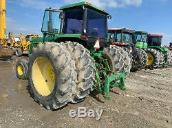 John Deere 4840 Farm Tractor Cab Air WithDuals Runs Great No Issues