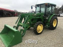 John Deere 5065E Cab Tractor. 4x4 Withloader. Only 450 Hours. Perfect All The Way