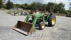 John Deere 5300 Tractor 2wd Loader 764 hours