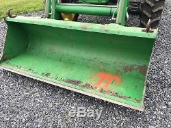 John Deere 5320 Diesel Tractor, 55 HP, 4x4, Flat Deck Model, JD QA 521 Loader